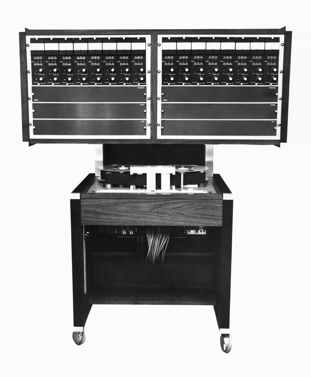 MCI 16-Track Tape Machine with JH-10 Transport