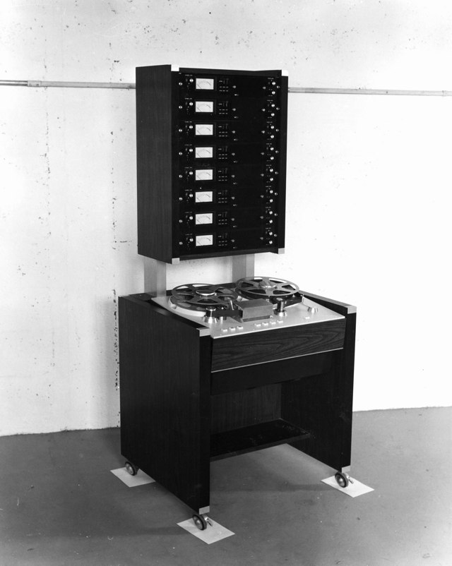 MCI 8-Track Tape Machine (Early)