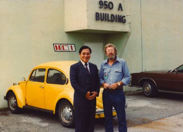Norio Ohga and Jeep Harned