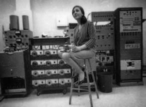 Panorama of the UTEMS studio equipment (l-r): Ampex 352 ¼
