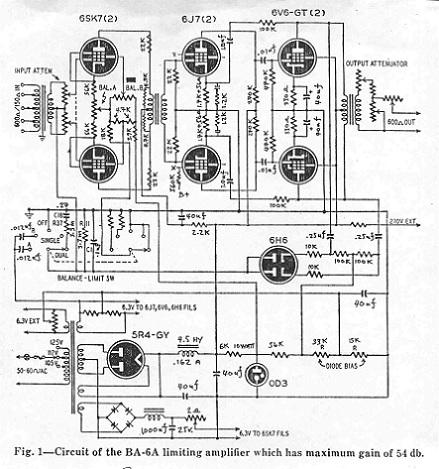 RCA BA6A Schematic