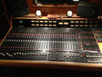 Trident Series 80B Recording Console