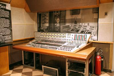 RCA Studio B Nashville Tenessee - Bill Porter's audio console at RCA Studio B in Nashville. Studio B was the birthplace of the Nashville sound.