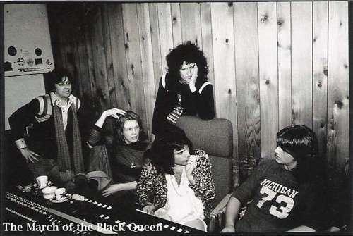 Queen in Recording Studio 1975