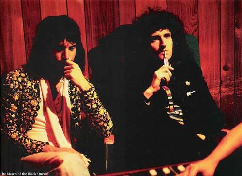 Queen in Recording Studio 1975