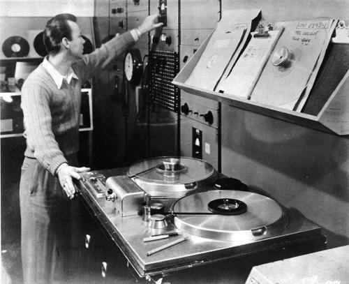 AMPEX 200A at Capitol Records