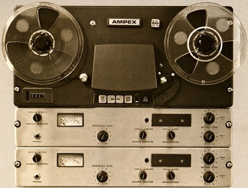 AMPEX AL-500 Tape Machine