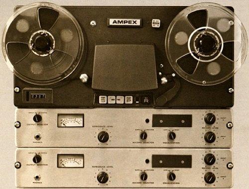 AMPEX AL-500 Tape Machine