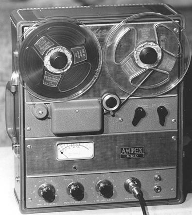 AMPEX Model 600 Tape Machine
