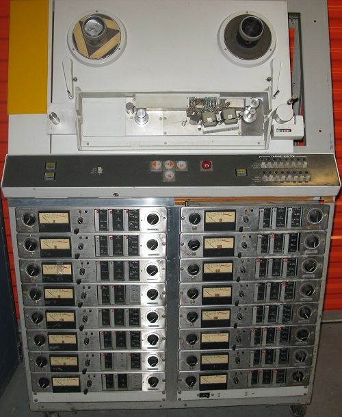 AMPEX MM-1000 with Vertical Transport