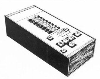 Ampex MM-800 Remote Control