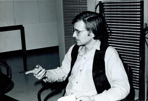 Doug Pomeroy in Columbia Studios, NY - Studio B