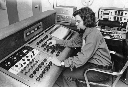 Joel engineering at Silver Burdett, Morristown NJ 1970