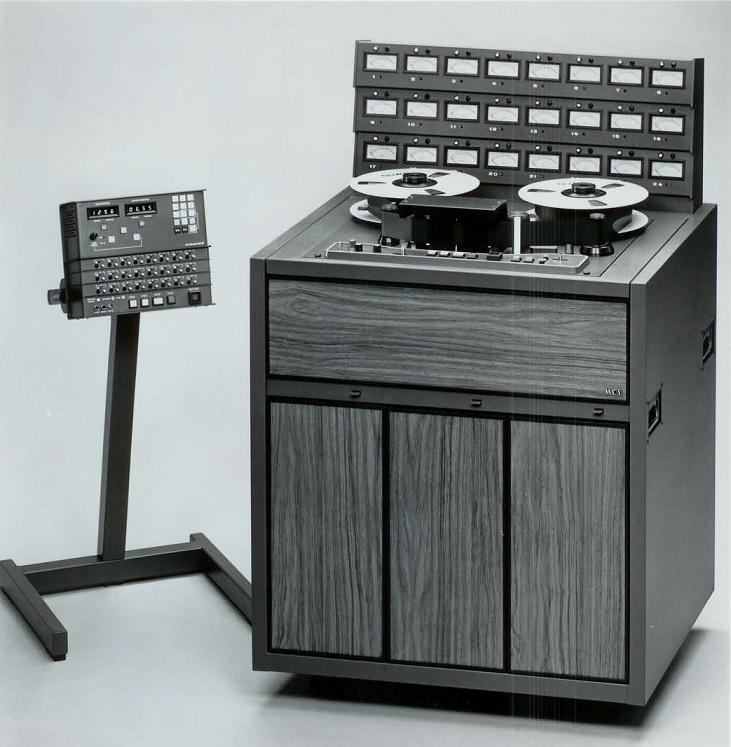 MCI JH-24 Tape Machine