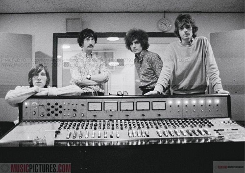 Pink Floyd, October 9-12, 1967, at De Lane Lea Studios