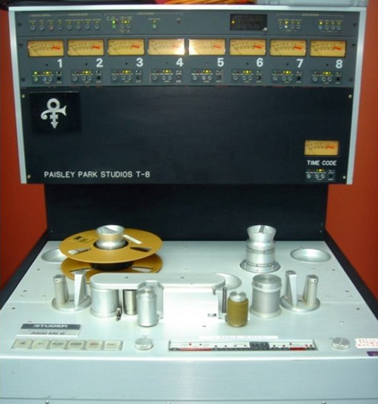 Studer A800 8 Track at Paisley Park Studios