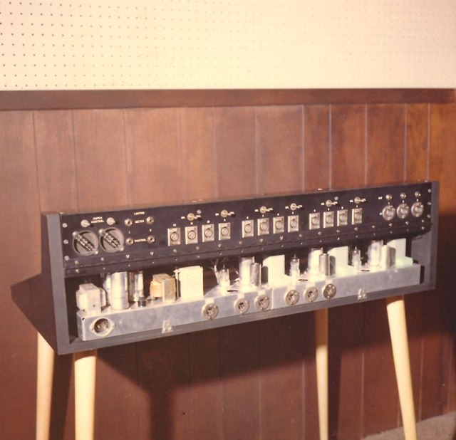 MCI Prototypes and Custom Recording Consoles