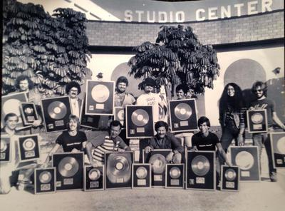 1978 Gold records GV and Studio Center from The MIami Herald