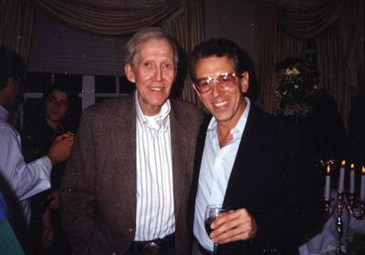 Jeep Harned and Chuck Kirkpatrick at a Criteria reunion party, late 90's...