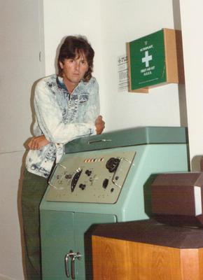 John Babcock with the Studer J37 1993