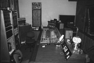 Capitol Console and 3M M-56 recorder at Astral Sounds, San Jose circa 1985